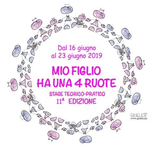 """16-23 Giugno 2019 - Stage teorico-pratico """"Mio figlio ha una 4 ruote"""" - 11a edizione"""