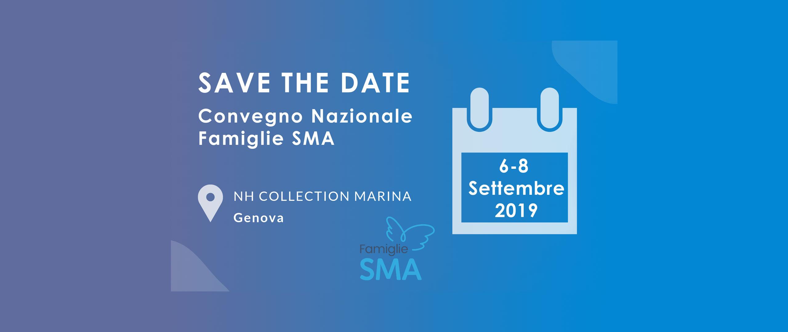 Convegno Famiglie SMA - 6-8 settembre 2019 - Genova