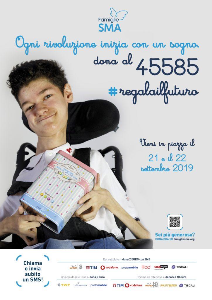 Campagna solidale raccolta fondi Famiglie SMA