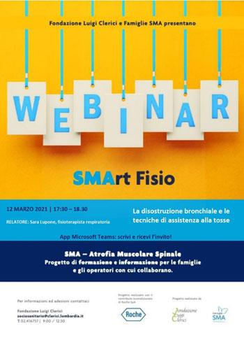 SMArtFisio venerdì 12 marzo - Webinar