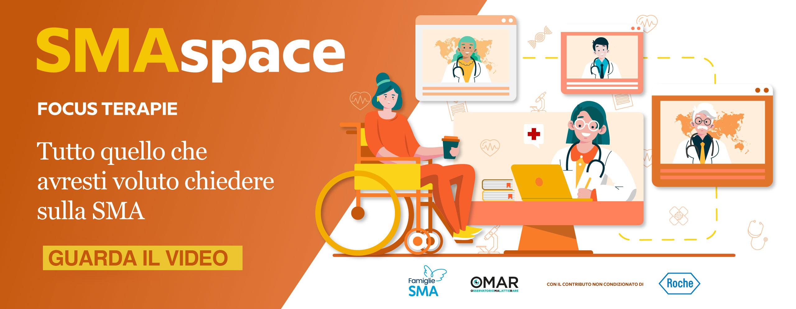 progetto SMASpace Famiglie SMA