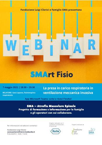 Venerdì 7 maggio Webinar SMArtfisio