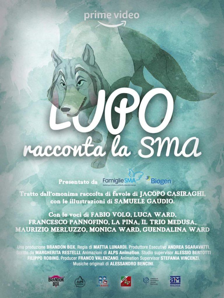 "Serie animata ""Lupo racconta la SMA"""